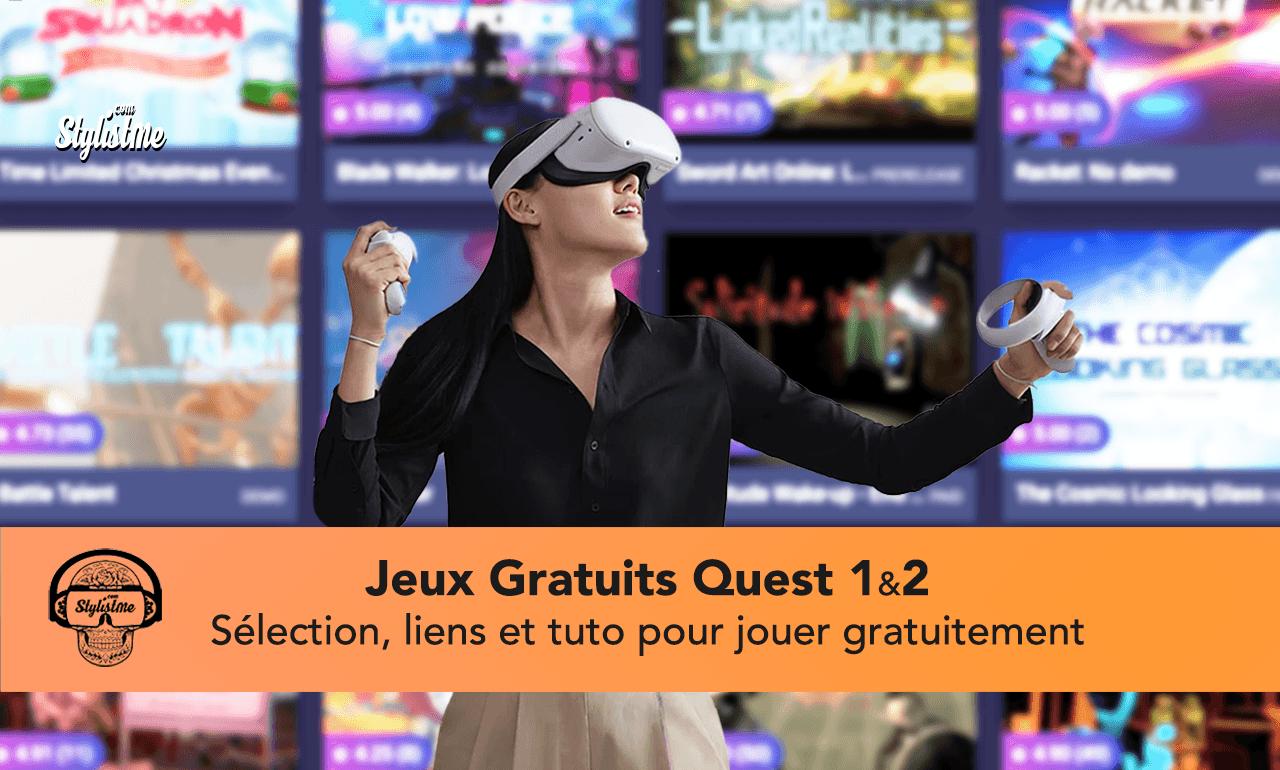 jeux gratuits Oculus Quest 2