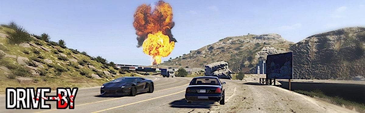 Drive By VR FPS multijoueur