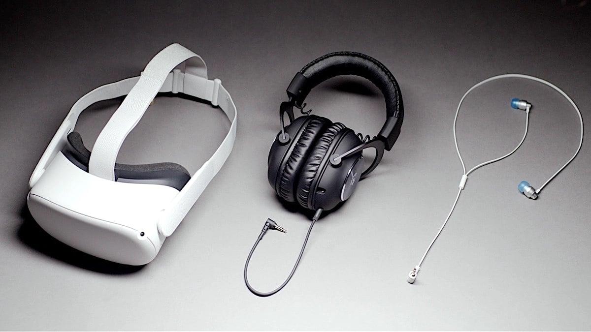 Logitech écouteurs Oculus Quest 2