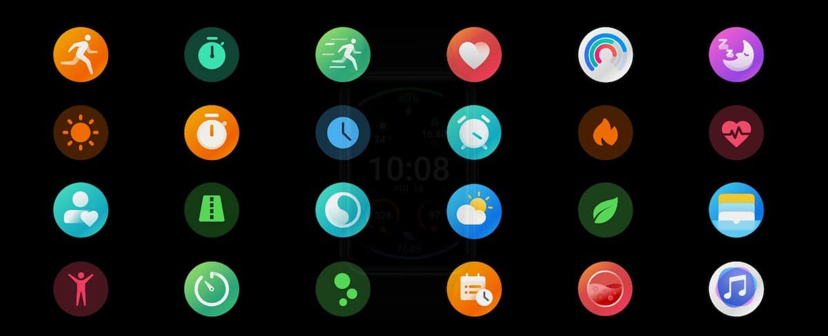 fonctionnalités Huawei watch fit