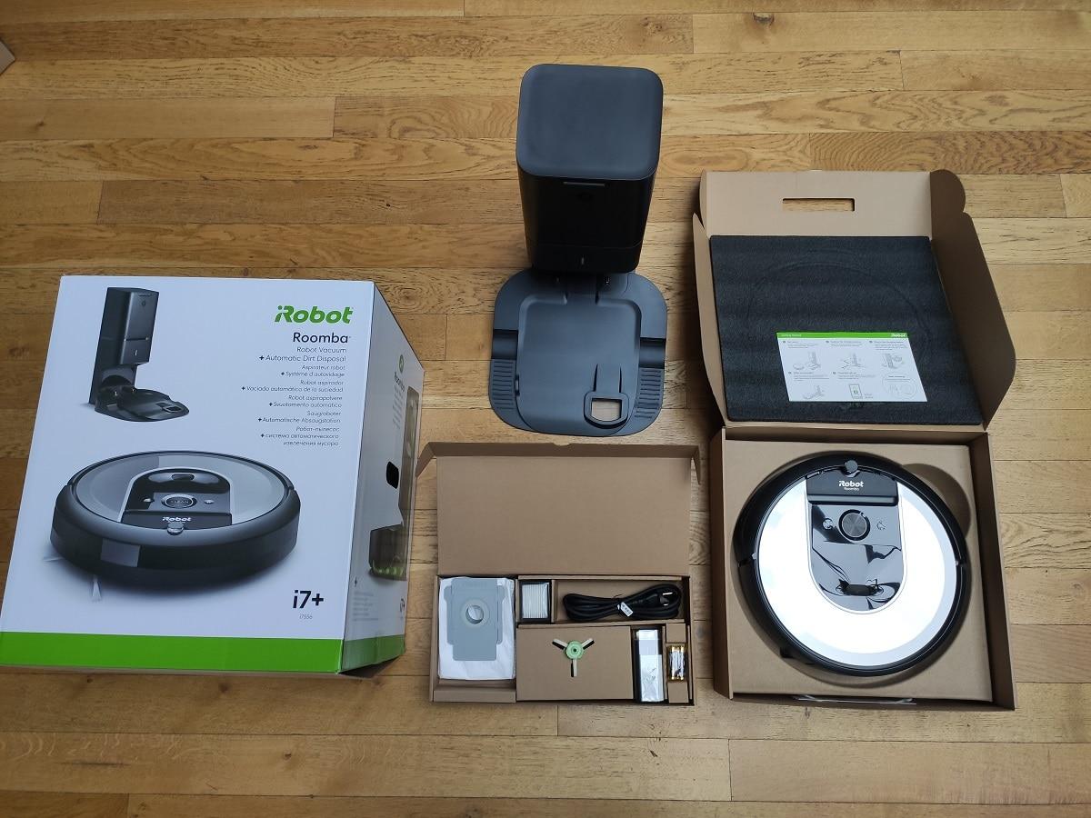 iRobot i7 Roomba test