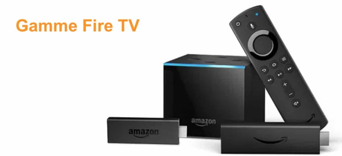 Gamme Fire Tv Stick Cube