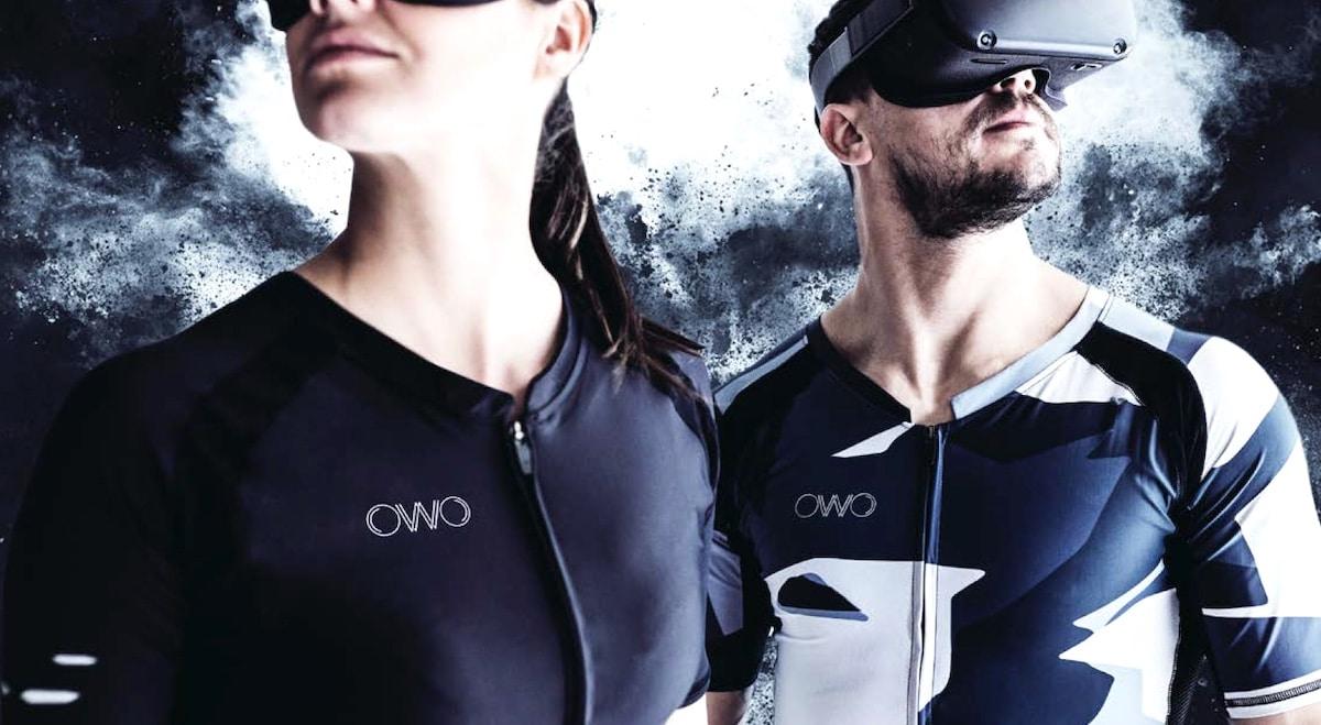 OWO veste haptique jeu VR PC mobile console