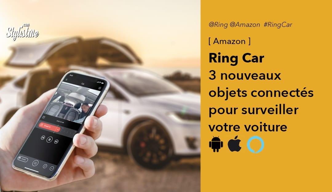 Ring Car alarme caméra