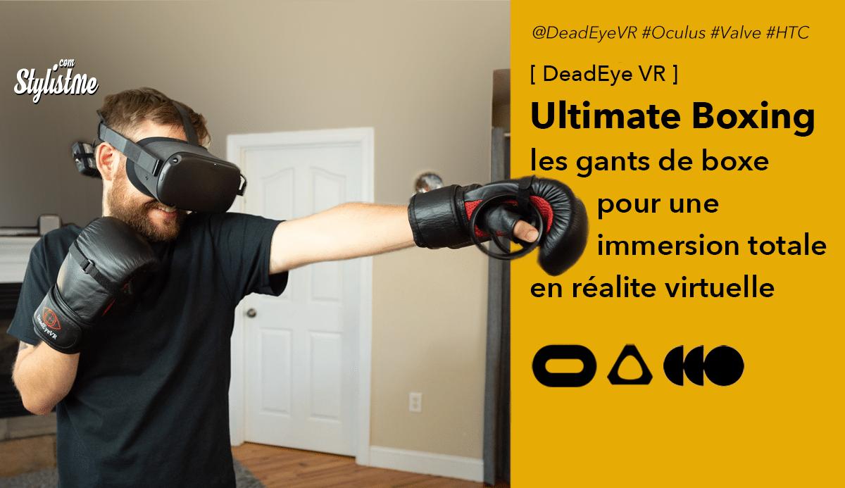 Ultimate Boxing gloves VR gants boxe réalité virtuelle