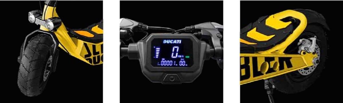 Ducati Cross-e scrambler caractéristiques