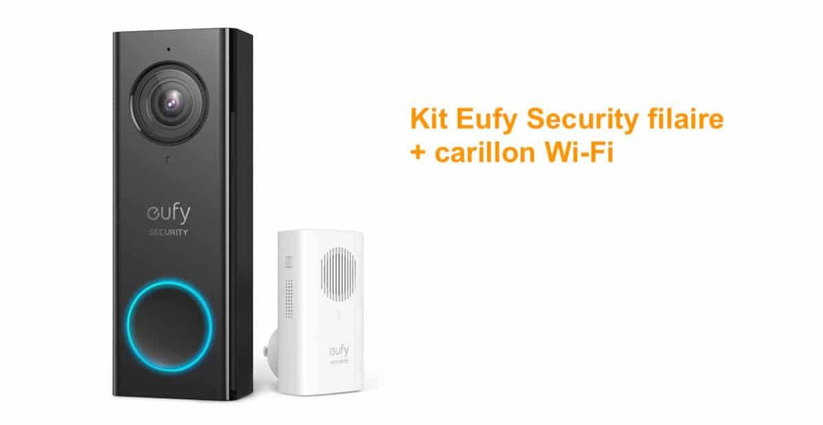 Eufy security sonnette vidéo et carillon