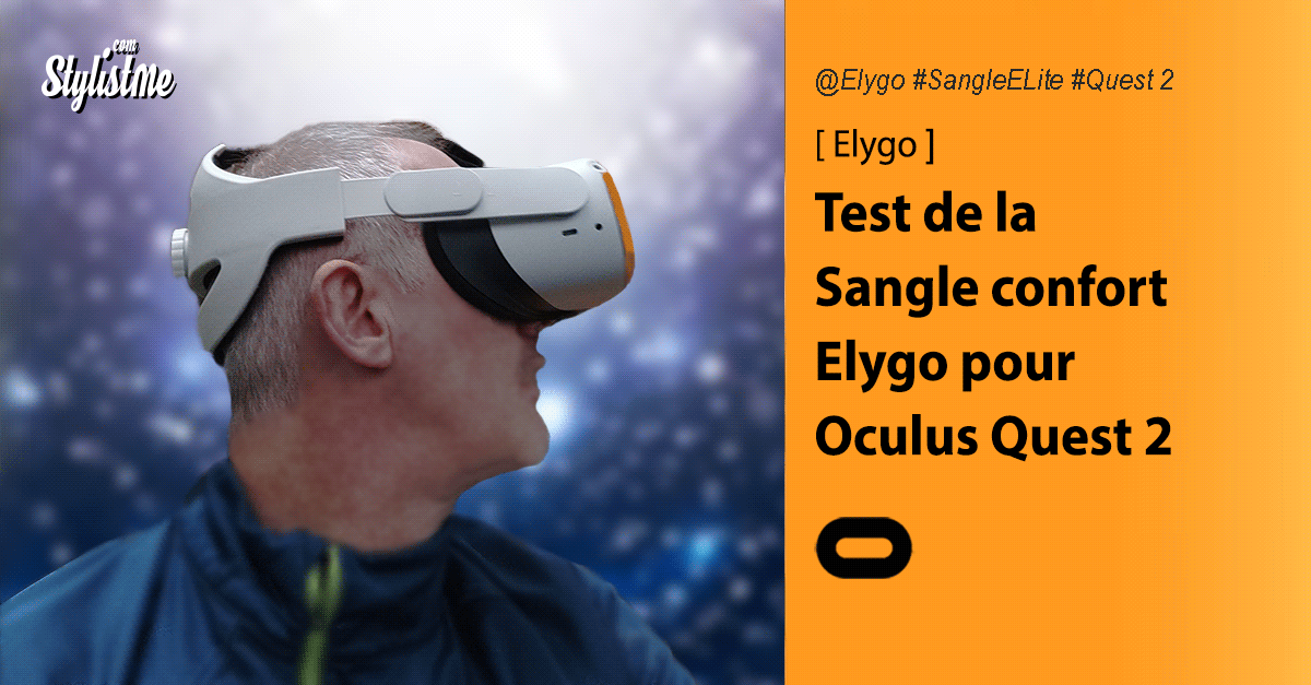 Elygo sangle Oculus Quest 2 test avis