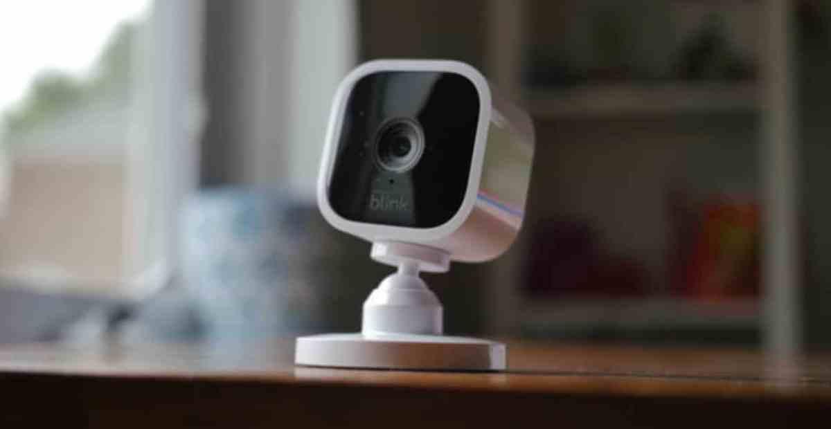 Blink mini caméra connectée intérieur