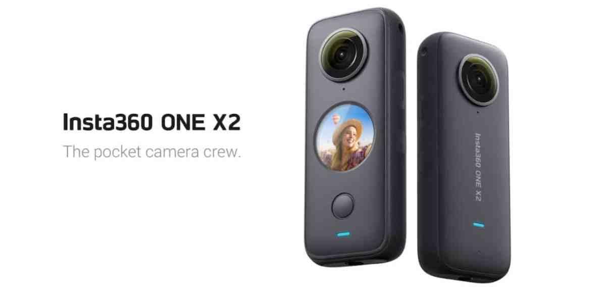 Insta360 One X2 caméra 360 degrés