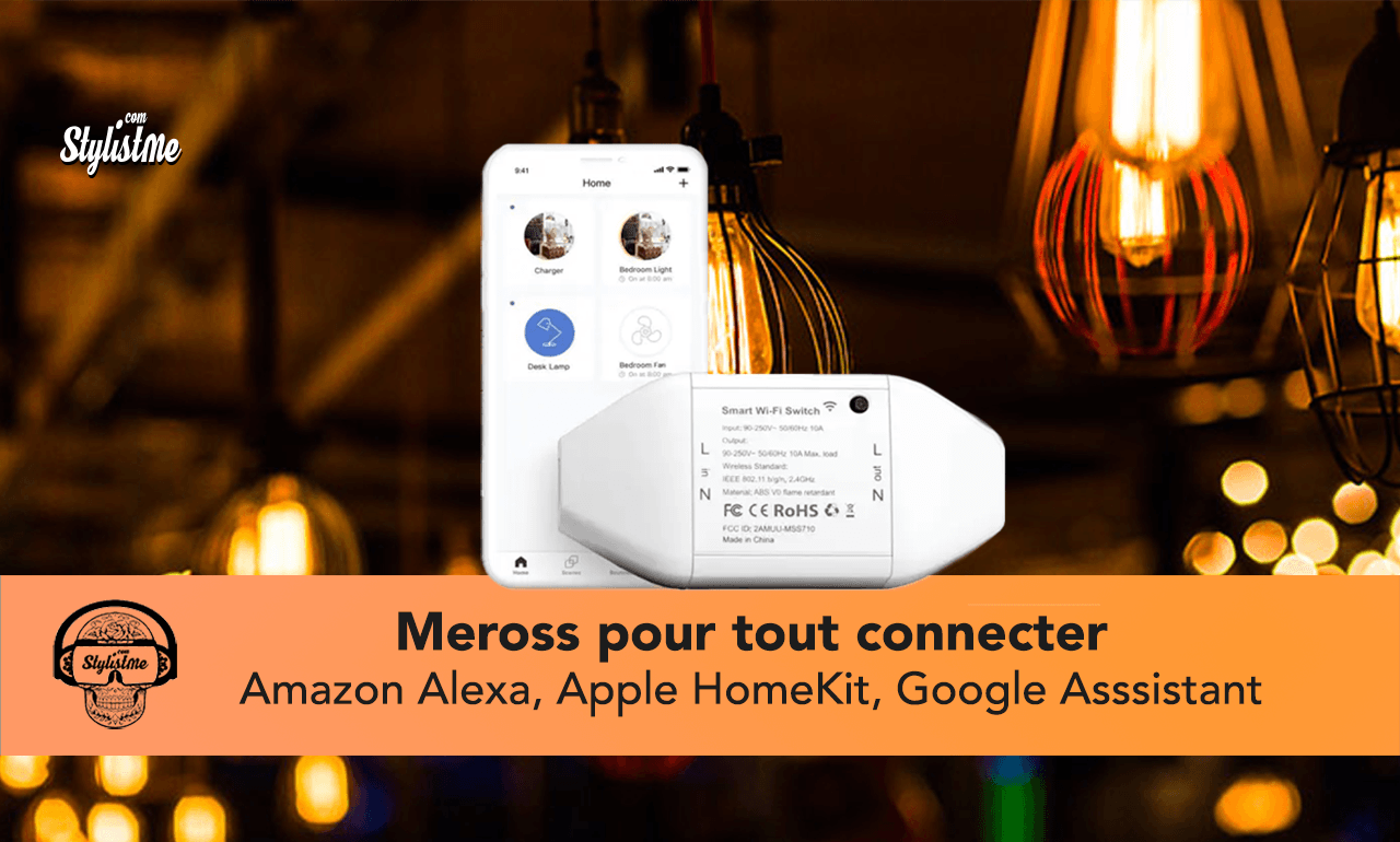 Meross smart Wi-Fi switch test avis