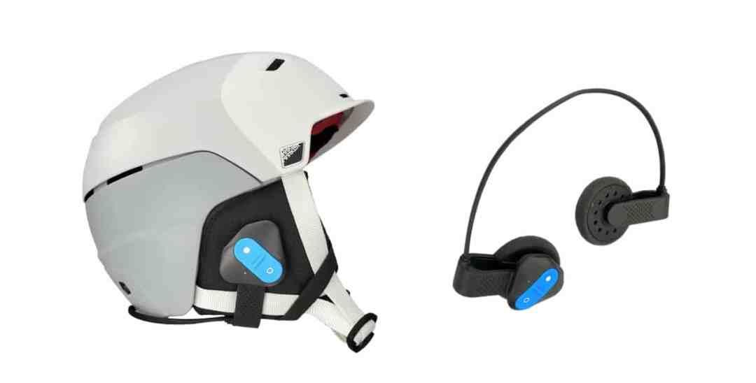 SkiTooth casque ski connecté en Bluetooth