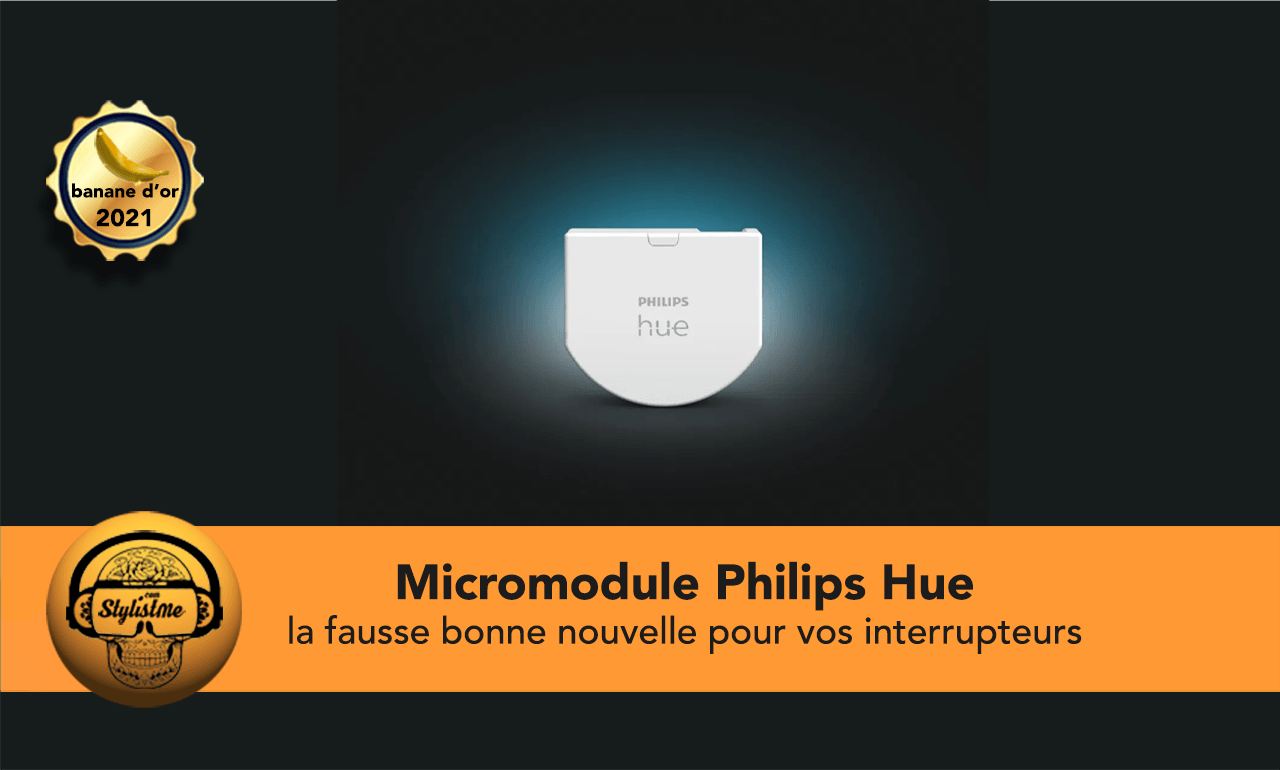micromodule Philips Hue avis test