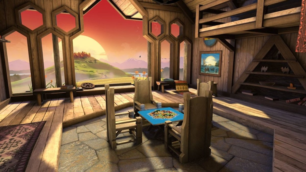 Catan VR Quest test