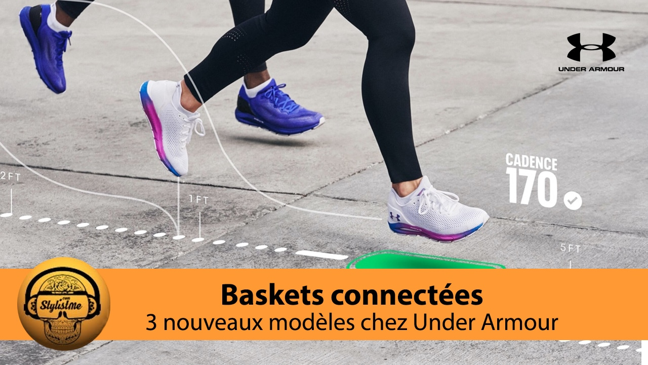 UA HOVR avis test baskets connectées Under Armour 2021