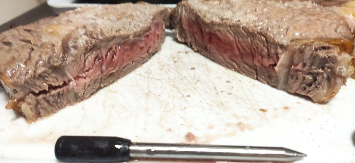 résultat cuisson saignant Meat it