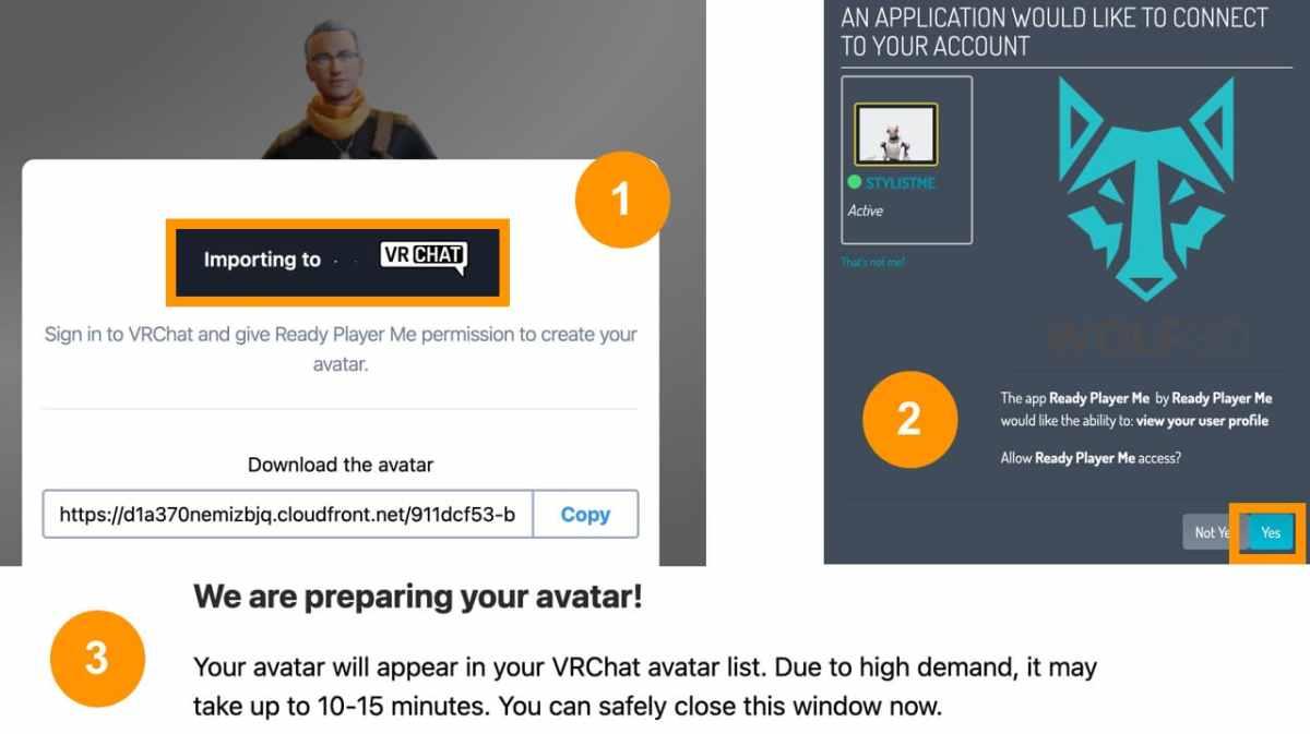 Importer Avatar VRChat