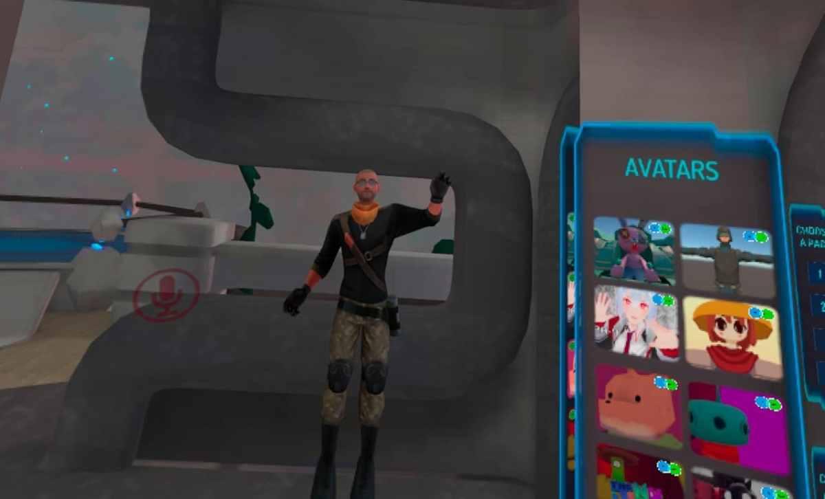Jouer avec mon avatar VRChat
