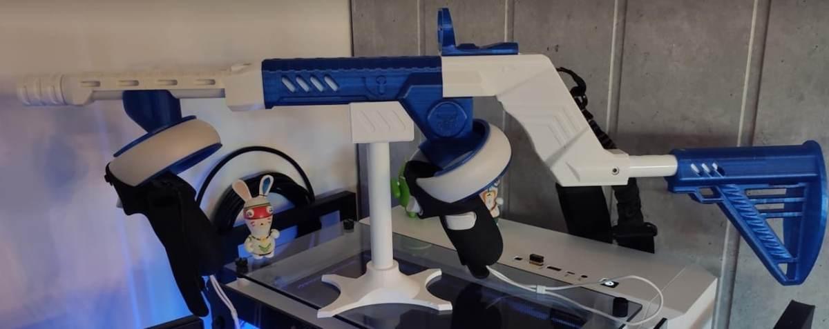 Ultimate VR Gun meilleur gunstock Quest 2