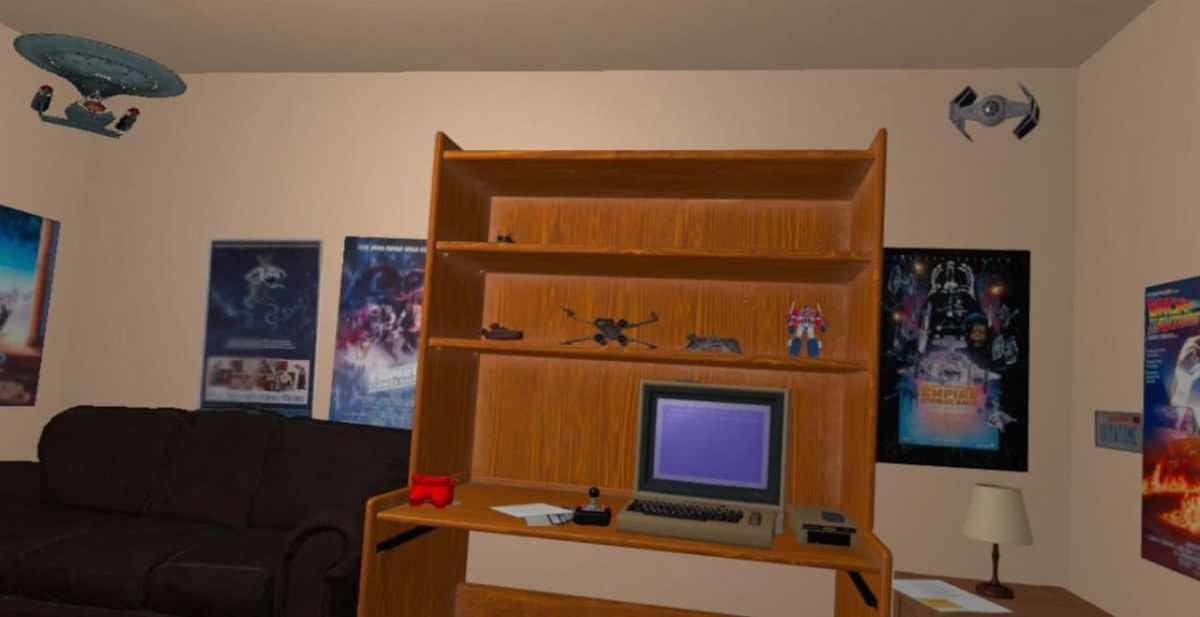 Emulateur Commodore 64 Oculus Quest années 80