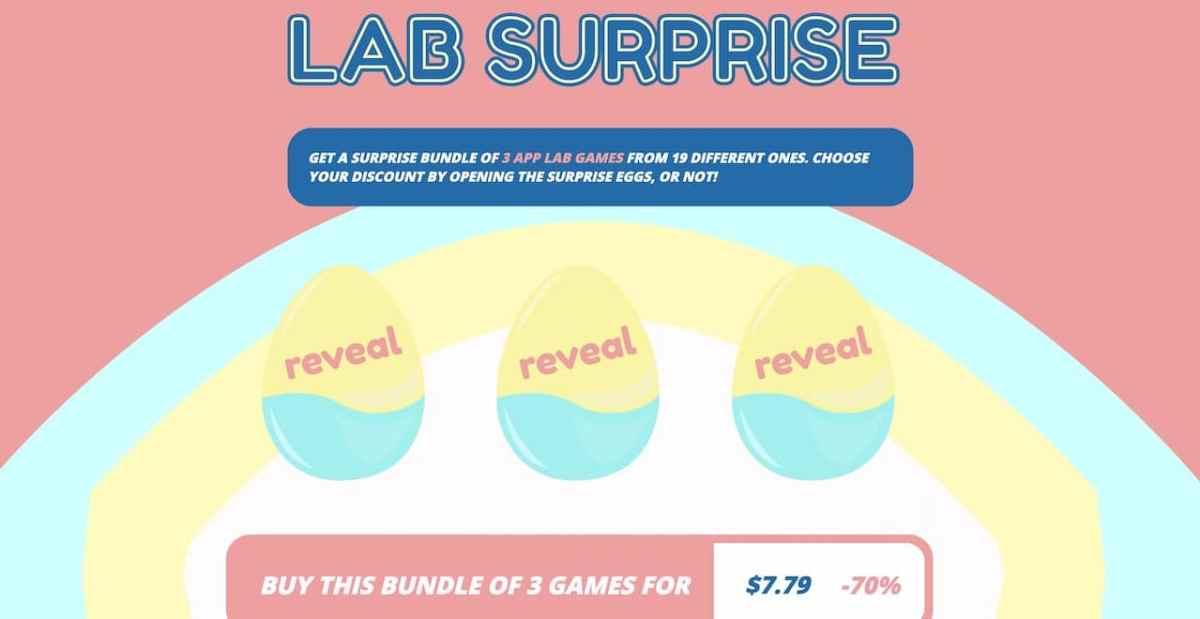 Lab Surprise réduction jeux Quest App Lab