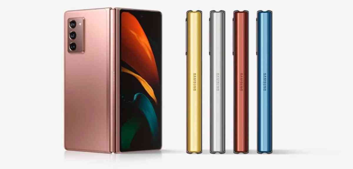 Samsung Galaxy Z Fold 2 couleurs