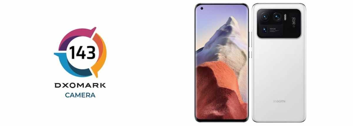 Xiaomi Mi 11 Ultra meilleur score DXOMARK 2021 caméra