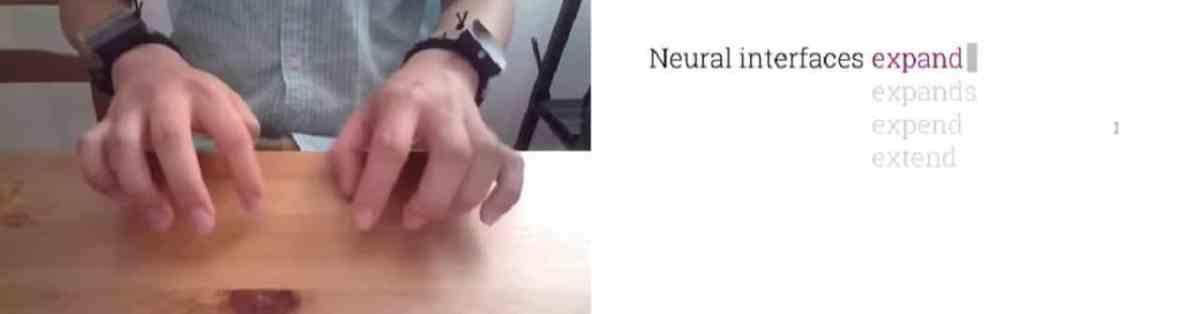 Tasbi Armbands Oculus clavier virtuel suivi des mains