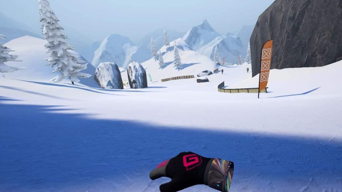 Carve snowboarding test