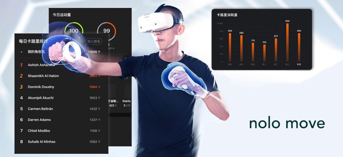 app nolo move nolo sonic VR