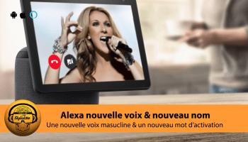 Ziggy Alexa voix masculine