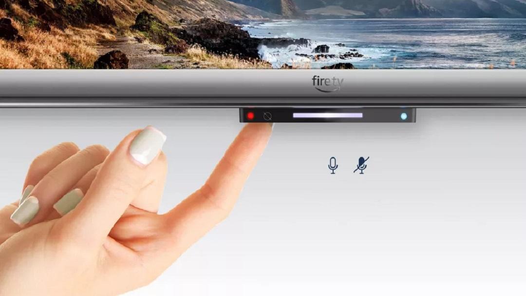 Télé Amazon Fire TV couper micro