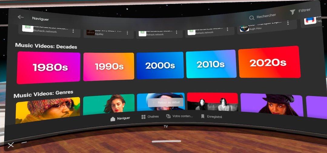 clip vidéo oculus Quest