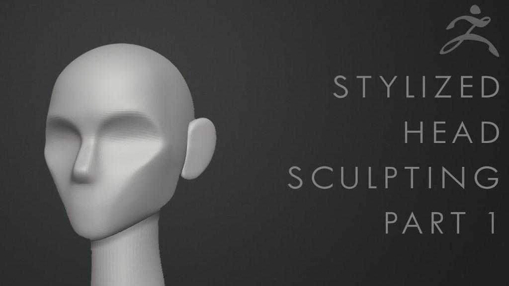 How to Sculpt a Stylized Head in Zbrush – 5 Part Tutorial