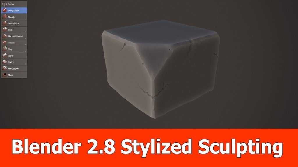 Stylized Sculpting in Blender 2.8