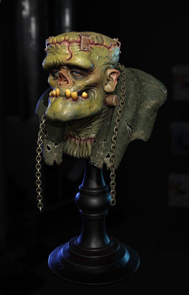Frankenstein by NA HO