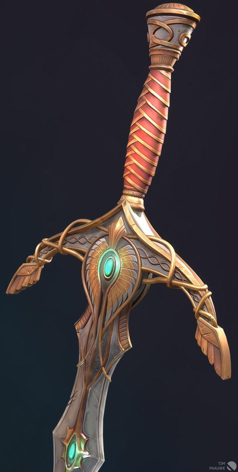 High Elven great sword – Tim Paauwe