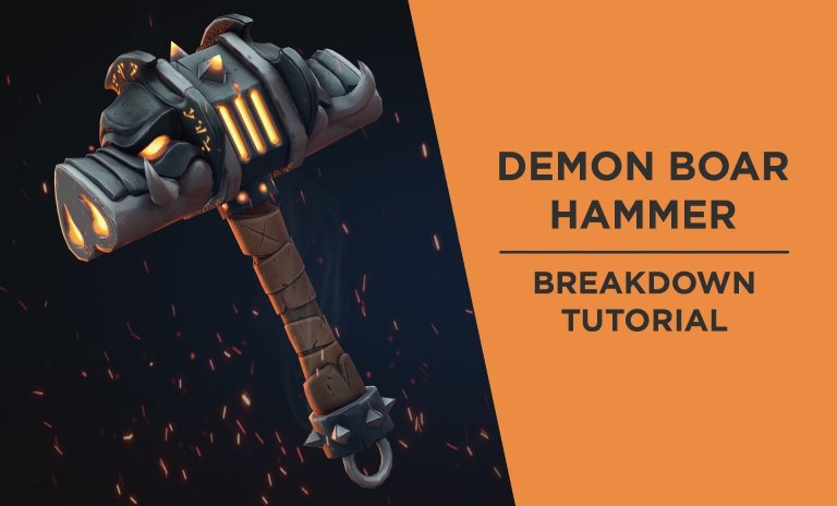 Art Breakdown: Creating a Stylized Game Asset using Zbrush & Substance Painter