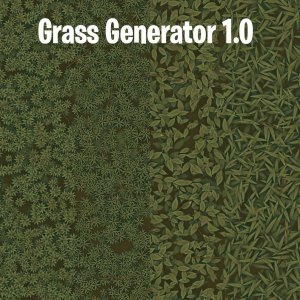 Grass Generator v1.0 SBSAR + Demo Scene + Ground Material By karalysson