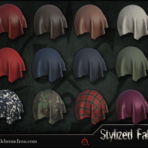 Stylized Fabric – Smart Materials By  Alchemic Iron Games