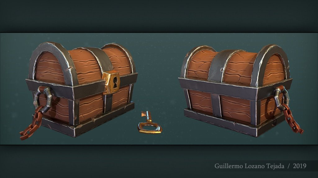 Creating a Game-Ready Stylized Chest from Start to Finish