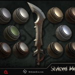 Stylized Metal – Smart Materials By  Alchemic Iron Games