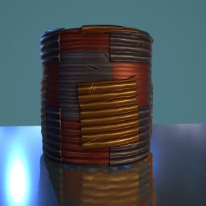 Stylized Wave Plate SBS File By karalysson