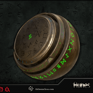 Runes – Brushes and Substances By  Alchemic Iron Games