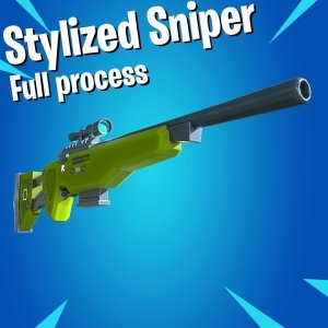 Stylized Sniper [Full process – no Audio] By karalysson
