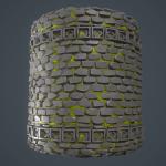 Temple Material + Marmoset Setup + Rock gen By karalysson