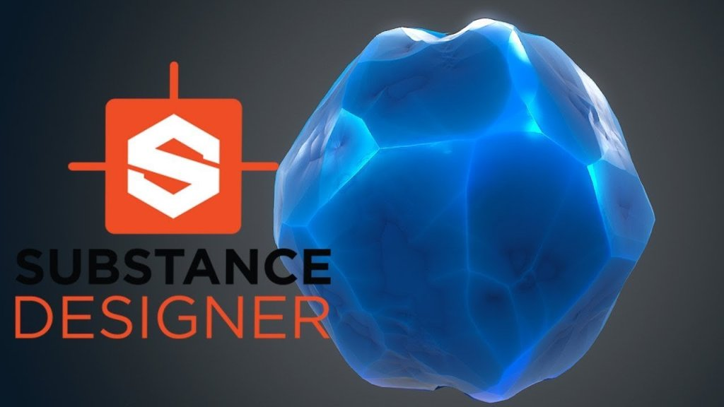 Substance Designer – Stylized Crystal Material