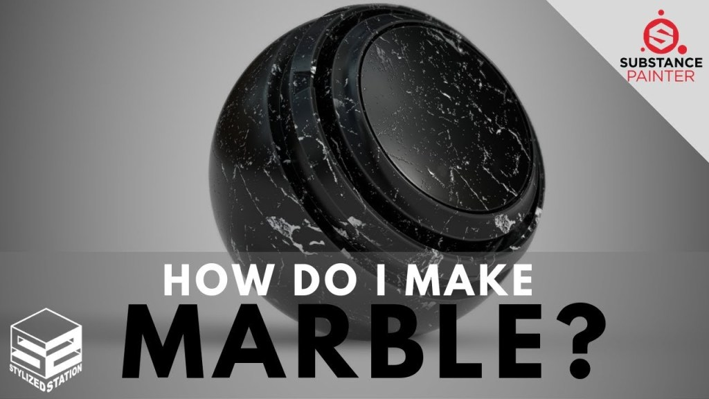 How do I make Marble? Substance Painter Smart Material