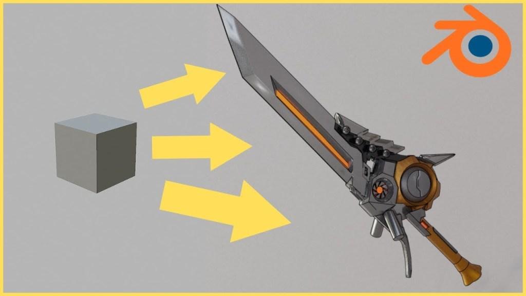 Blender Modeling Basics – Modeling a Sword