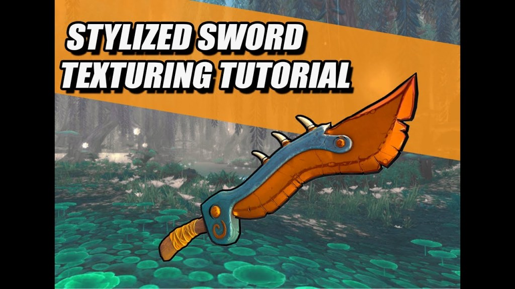 Fantasy Sword Texturing Tutorial [PBR MAGIC]